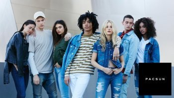 An example of the products offered by Pacsun