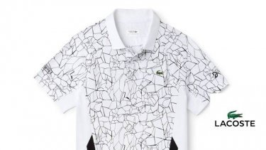 An example of the products offered by Lacoste