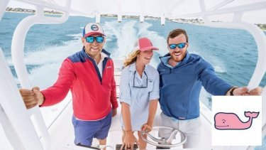 An example of the products offered by Vineyard Vines