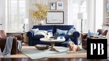 An example of the products offered by Pottery Barn